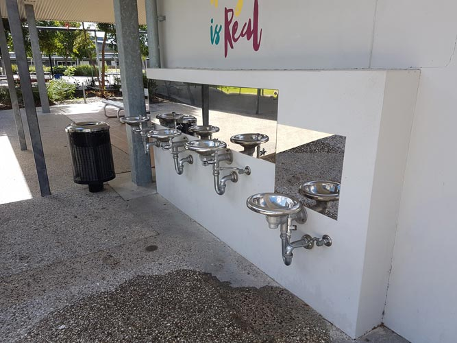 School Cold Water Drinking Station